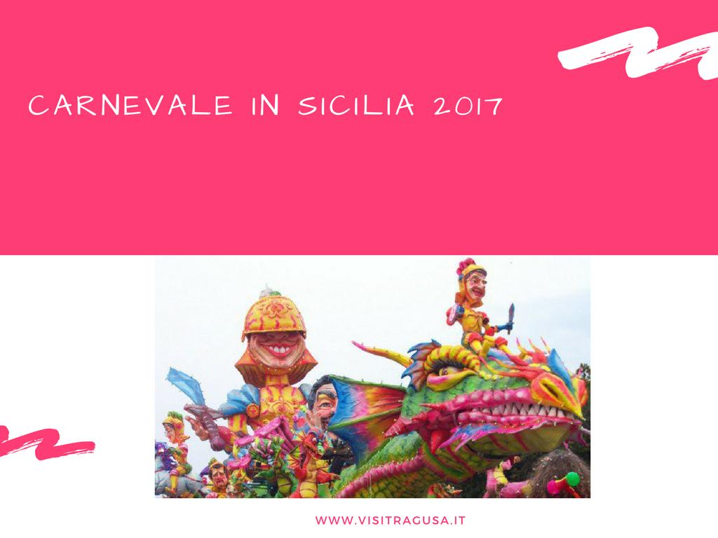 Carnevale In Sicilia 2017